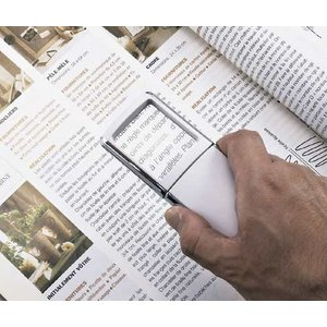 名入れ印刷料金無料 ライト付スライドルーペ(B&W) 販促グッズ ノベルティ 記念品 粗品 景品 生活雑貨 hn70177|hansoku-novelty|05