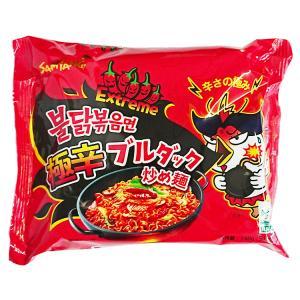 【三養】サンヤン ヘクブルダック炒め麺激辛140g辛さx2培|hantosi