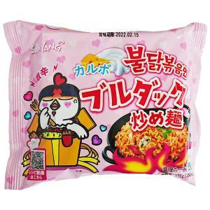 【三養】カルボブルダック炒め麺 130g (限定版)|hantosi