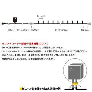 /LEDイルミネーション/ストレートライト ブルー200球 LPL200B/コントローラー付/コロナ産業/ hanwa-ex 03