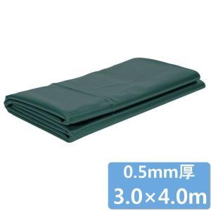 プールライナー 3.0m×4.0m/成型池/庭池/ビオガーデン/ hanwa-ex