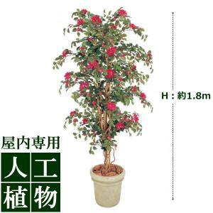 【人工植物】グリーンデコ ブーゲンビリア 立木 1.8m|hanwa-ex
