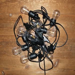 ストリングライト10球/ガーデンライト / パーティーライト LEDライト イルミネーション ハロウィン クリスマス  イルミ  屋外 屋内|hanwa-ex|07