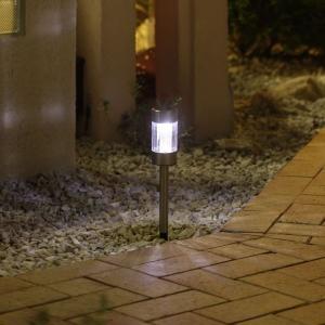 ステンレスマーカーライト/ガーデンライト/ソーラーライト/|hanwa-ex