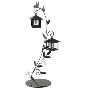 /ガーデンオブジェ/ソーラーライト/ソーラーライト(フォレスト) 2灯タイプ  /B-1/|hanwa-ex