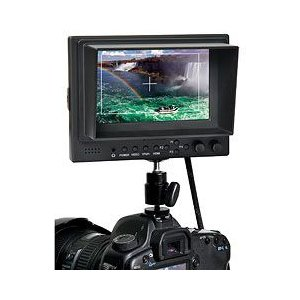 5インチワイド液晶カラーモニター HDMI / YPbPr / AV入力対応|hanwha
