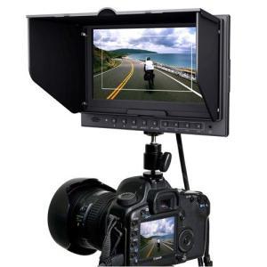デジタルカメラ 液晶モニター 業務用 HM-TLB7AD 7インチ 7型 バッテリー駆動対応 EOS 5D MarkIIモード搭載|hanwha