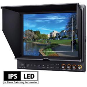 デジタルカメラ 液晶モニター 業務用 HM-TLB943SV2 9.7インチ 9.7型 IPS液晶 バッテリー駆動対応 3G-SDI XLR電源 Vマウントバッテリー EOS 5D MarkII / MarkIII|hanwha