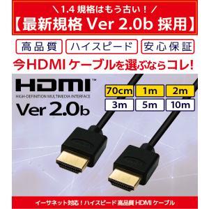HDMIケーブル 2m 1m Ver.2.0b...の詳細画像1