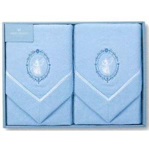 東京西川ギフト WEDGWOOD(ウェッジウッド) 綿毛布2P(毛羽部分) 140×200cmWW0550N(2000113011175)|hanzam