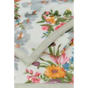 東京西川 Sanderson サンダーソンシール繊綿毛布 シングルSD001(2000112765109)|hanzam