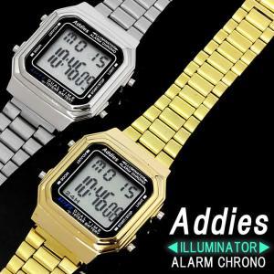 腕時計 メンズ レディース 時計 デジタル スクエア おしゃれ ブランド|hapian