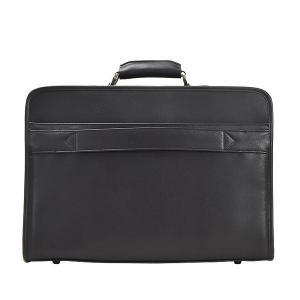 アタッシュケース ソフトアタッシュケース ビジネスバッグ B4 メンズ 2室 キャリーバー通し 通勤 出張 黒 21224|hapian