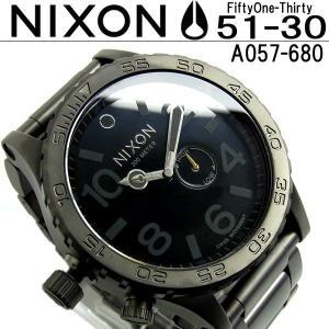 ニクソン NIXON 腕時計 A057-680 THE 51-30 A057680 メンズ|hapian