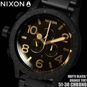 ニクソン クロノグラフ A0831354 NIXON 腕時計 メンズ 51-30|hapian
