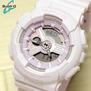 カシオ CASIO ベビーG BABY-G 腕時計 BA-110-4A2 レディース ビッグケース ピンクブーケ|hapian