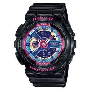 Baby-G 腕時計 レディース  カシオ CASIO ベビージー デジアナ BA-112-1A|hapian