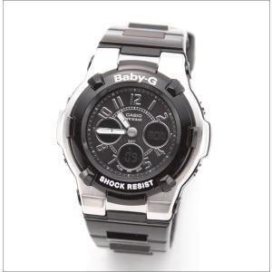 Baby-G 腕時計 レディース  カシオ CASIO ベビージー デジアナ BGA-110-1B2|hapian