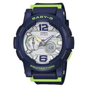 Baby-G 腕時計 レディース  カシオ CASIO ベビージー デジアナ Gライド BGA-180-2B|hapian