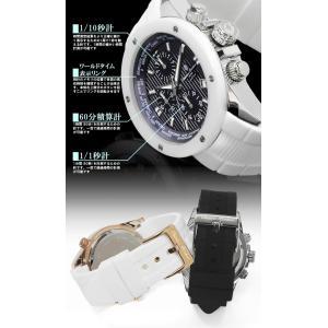 クロノグラフ 腕時計 メンズ ワールドタイム 限定モデル|hapian|05