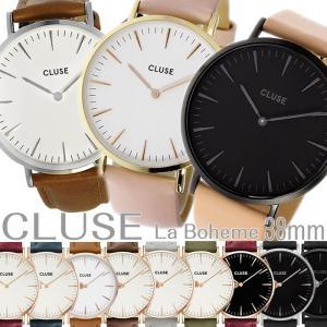 クルース CLUSE レディース腕時計 ラ・ボエーム LA BOHEME アナログ 38mm ユニセックス メンズ ペアウォッチ可能 hapian