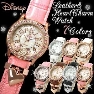 【disney_y】ミッキーマウス ミッキー 腕時計 レディース レディス 腕時計 ハート ミッキー hapian