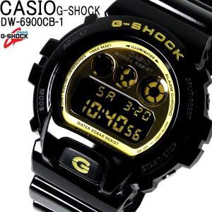 G-SHOCK ジーショック Gショック CASIO カシオ DW-6900CB-1 メンズ 腕時計 黒 金