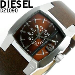 ディーゼル 腕時計 DIESEL メンズ ブランド 革ベルト DZ1090 ディーゼル/DIESEL|hapian