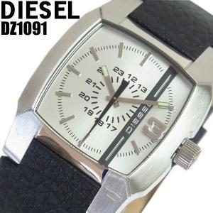 ディーゼル 腕時計 DIESEL メンズ ブランド 革ベルト DZ1091 ディーゼル/DIESEL|hapian