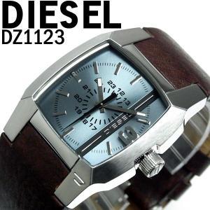 ディーゼル DIESEL 腕時計 メンズ ブランド DZ1123 ディーゼル 革ベルト DIESEL hapian