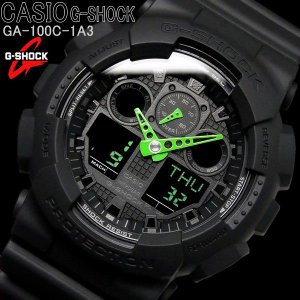 G-SHOCK カシオ 腕時計 CASIO Gショック メンズ GA-100C-1A3|hapian