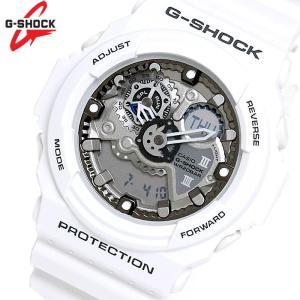 G-SHOCK カシオ 腕時計 CASIO Gショック アナデジ デジアナ 白 ホワイト GA-300-7|hapian