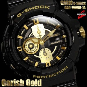 G-SHOCK カシオ 腕時計 CASIO Gショック メンズ ゴールド GAC-100BR-1A|hapian
