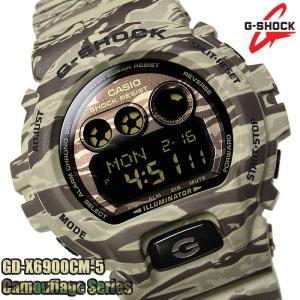 CASIO G-SHOCK 腕時計 カシオ 時計 GD-X6900CM-5 Gショック 迷彩 デジタ...