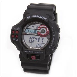 CASIO カシオ G-SHOCK Gショック ジーショック メンズ デジタル ツインセンサー Newモデル gdf-100-1a|hapian