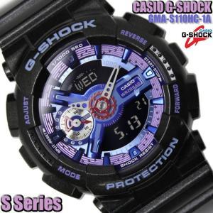 G-SHOCK メンズ G-SHOCK Gショック アナデジ 腕時計 Sシリーズ GMA-S110HC-1A|hapian