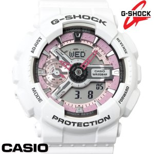 CASIO カシオ G-SHOCK Gショック 腕時計 メンズ レディース アナデジ GMA-S110MP-7A ホワイト ピンク|hapian