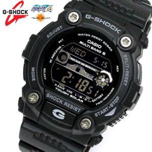 カシオ CASIO Gショック G-SHOCK ジーショック 腕時計 電波ソーラー スタンダード GW-7900B-1 メンズ ブラック 黒|hapian