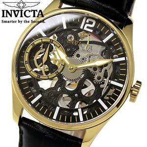 腕時計 メンズ スケルトン INVICTA インビクタ 12405 自動巻き 腕時計|hapian