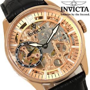 メンズ腕時計 INVICTA インビクタ 自動巻き ヴィンテージ 革ベルト 12407|hapian