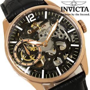 メンズ腕時計 INVICTA インビクタ 自動巻き ヴィンテージ 革ベルト 12408|hapian