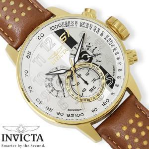 メンズ腕時計 INVICTA S1 ラリー インビクタ クロノグラフ 革ベルト 19287|hapian