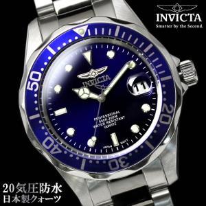 腕時計 メンズ ダイバーズウォッチ INVICTA インビクタ ブランド 9204 腕時計|hapian