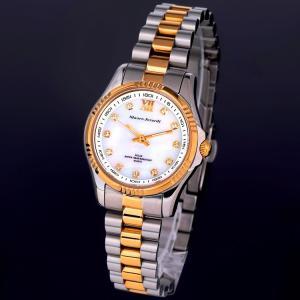 Mauro Jerardi マウロジェラルディ レディース 腕時計 電池交換不要 ソーラー女性用 女...