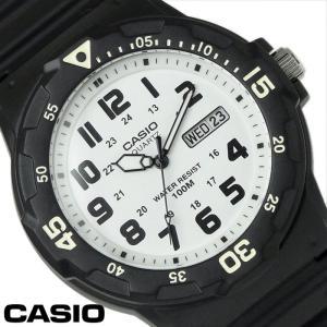 チプカシ 腕時計 アナログ CASIO カシオ チープカシオ メンズ MRW-200H-7B ブラック ホワイト hapian