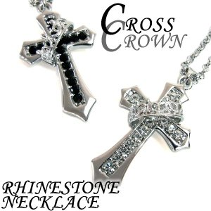 メンズ ネックレス 十字架 アクセサリー クロス...