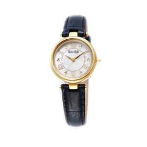 ルビンローザ RUBIN ROSA 腕時計 レディース ウォッチ ブランド 電池交換不要 ソーラー クォーツ レザー R021GWHBL ホワイト/ブルーの画像