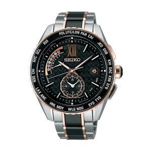 国内正規品 ブライツ セイコー 腕時計 ソーラー電波 ダイヤモンド メンズ SAGA174 取り寄せ|hapian