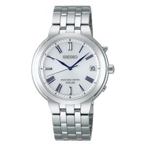 セイコー スピリット SEIKO SPIRIT 腕時計 ソーラー 電波 メンズ SBTM183 国内...