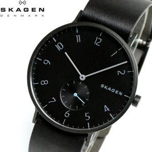 スカーゲン SKAGEN 腕時計  メンズ アーレン リバーシブルベルト レザーベルト SKW648...